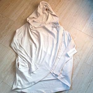 NWT Athleta Purana Wrap Sweatshirt